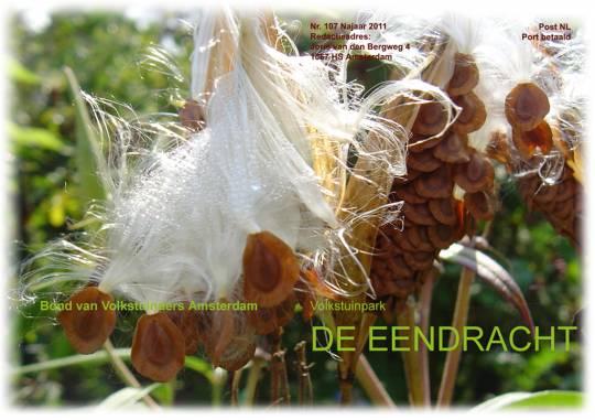 Omslag clubblad nr 107 Herfst 2011