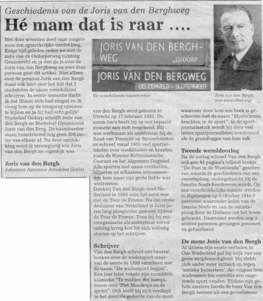Joris van den Bergh