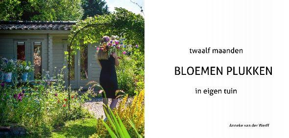 Cover boek Twaalf maanden BLOEMEN PLUKKEN in eigen tuin
