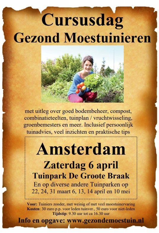 Cursusdag gezond moestuinieren 06-04-2019 tuinpark De Groote Braak